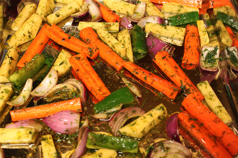 Foolproof Recipe For Perfeclty Roasted Vegetables