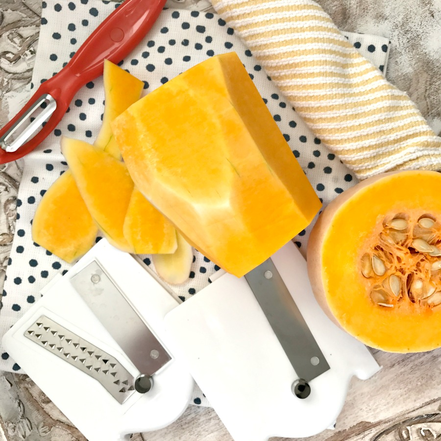 how to cook butternut squash cubes in microwave