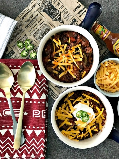 Gather \'Round the Fire, Cold Weather Chili Recipe - Our Savory Life