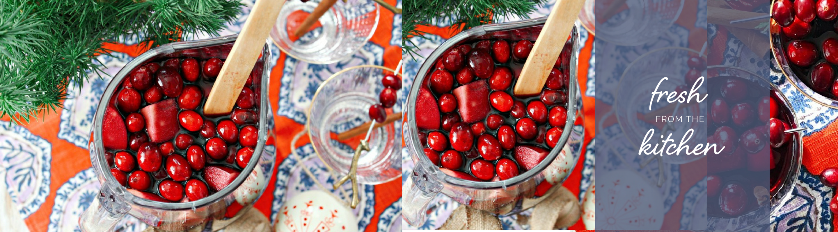 Fresh From the Kitchen – Holiday Sangria 2