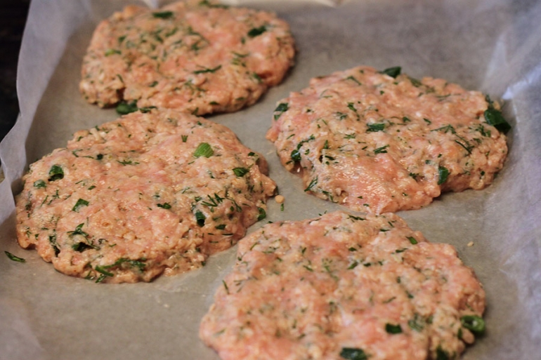 patties for ground chicken burgers