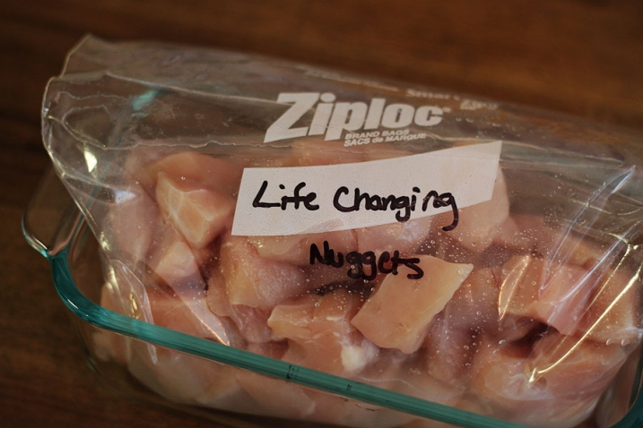 marinating paleo chicken nuggets