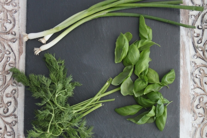 fresh herb dressing recipe with fresh herbs
