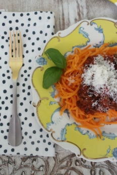 how to make sweet potato noodles from scratch