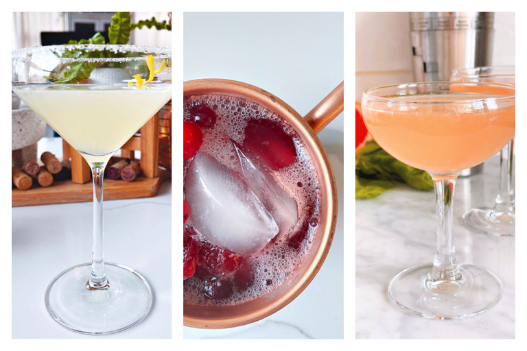 Bri McKoy's most popular cocktail recipes listed all in one place!