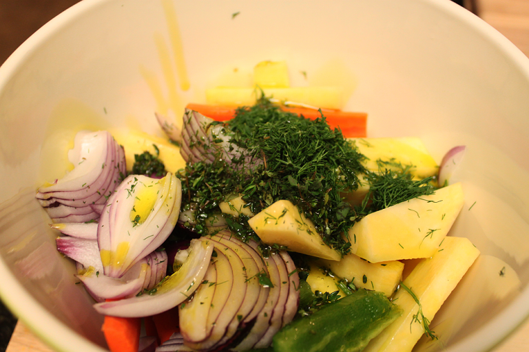 four steps to perfeclty roasted vegetables