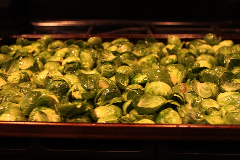 paleo oven roasted Brussels sprouts