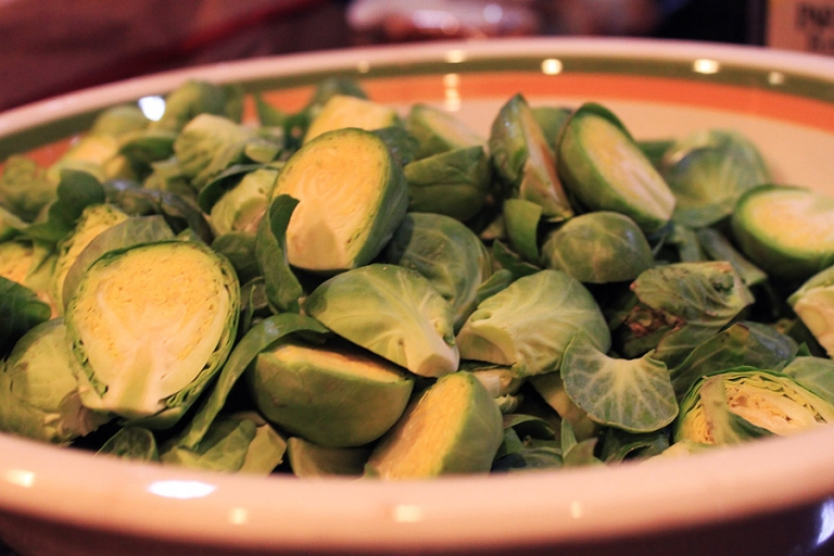 recipe for oven roasted Brussels sprouts