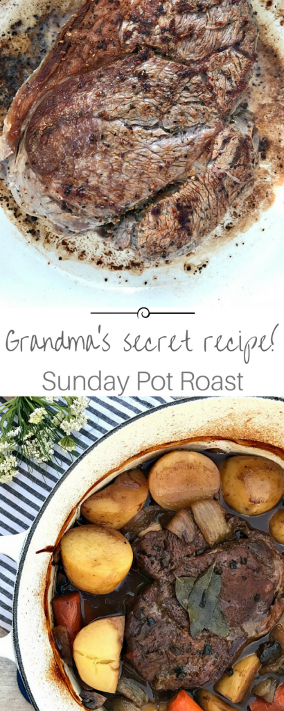 The best pot roast recipe! Mouthwatering and flavorful!