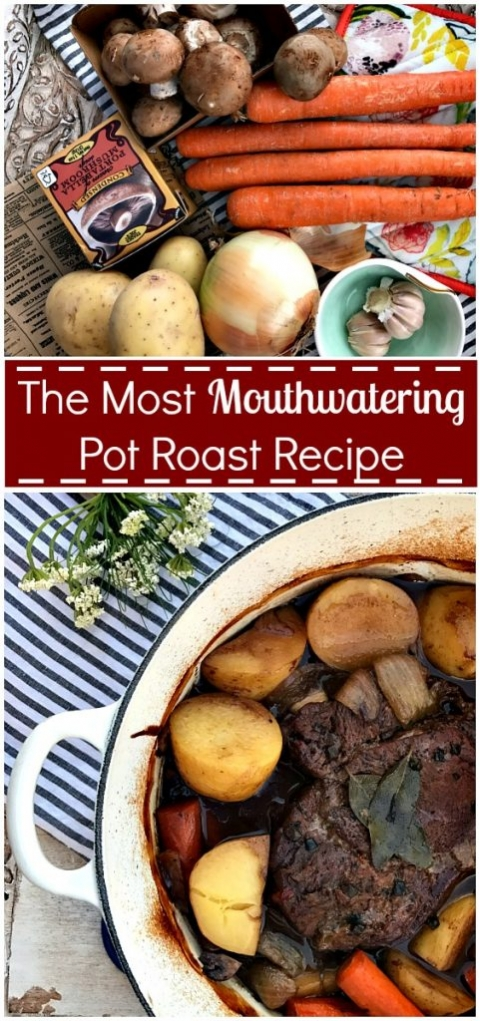 The most mouthwatering pot roast reipe!