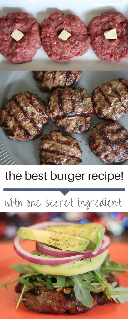 This is the best burger recipe! So flavorful and one exceptional secret ingredient! You have to try these!