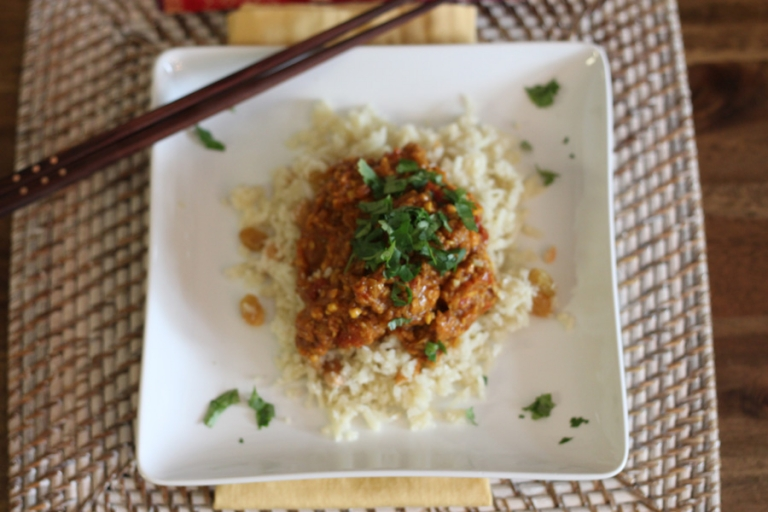 delicious paleo chicken curry recipe