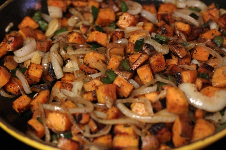 cooked_sweet_potato_hash_skillet