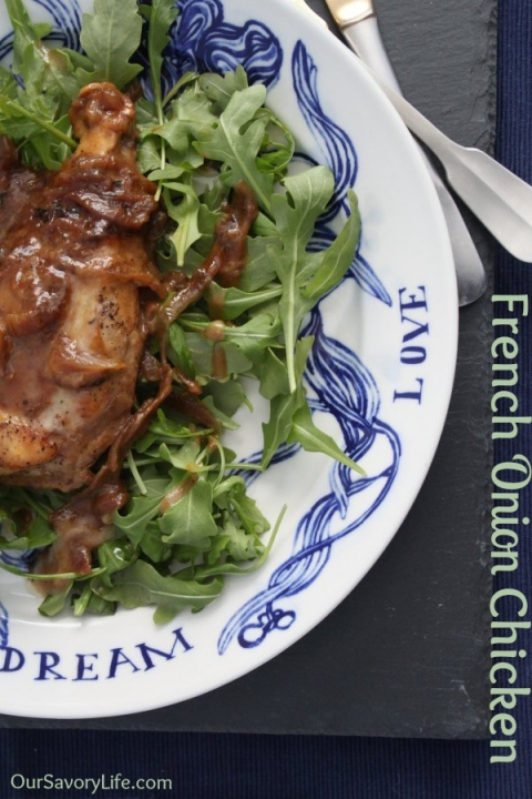 french-onion-chicken-recipe-oursavorylife-pinterest