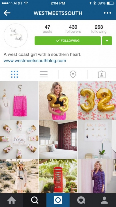 west meets south instagram