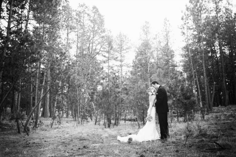 Bri & Beau Married in Forest