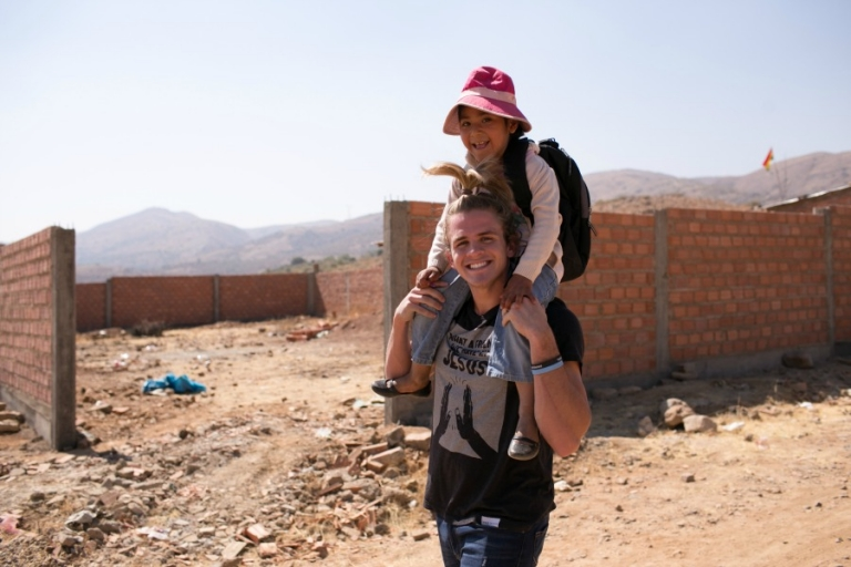 Cole LaBrant with Compassion in Bolivia