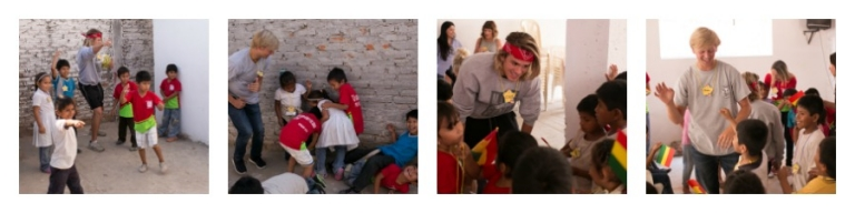 Cole and John in Bolivia with Compassion