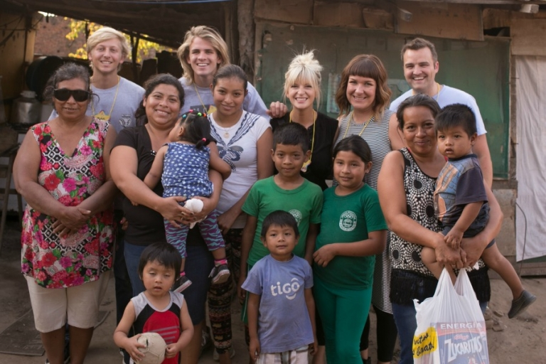 Cole and john in santa cruz bolivia with Compassion
