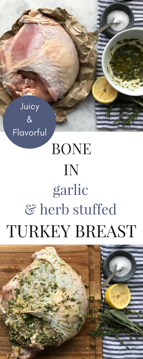 This Thanksgiving - no need to bake a whole turkey! This juicy, flavorful bone-in turkey breast will please everyone!