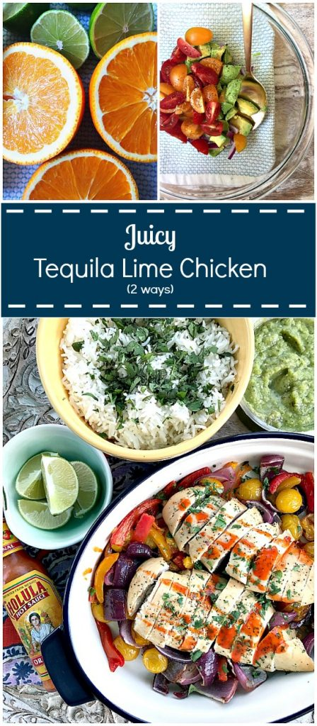 Juicy tequila lime chicken! So flavorful. Perefect weeknight meals!