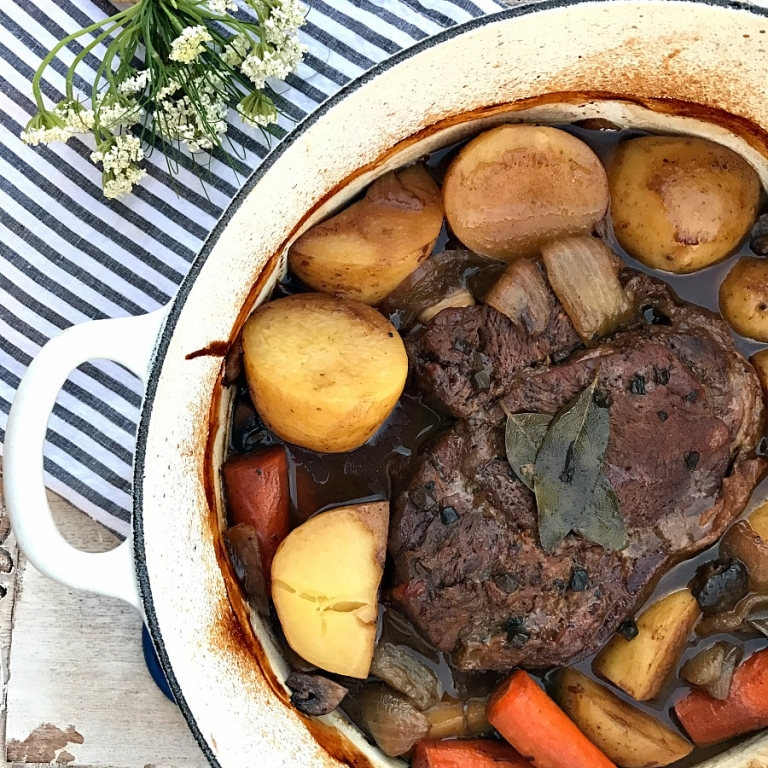 The best pot roast recipe! Mouthwatering!