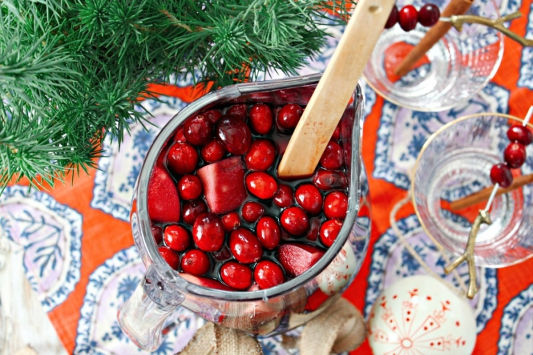 Holiday Sangria Recipe! Foolproof, boozy and packed with flavor!