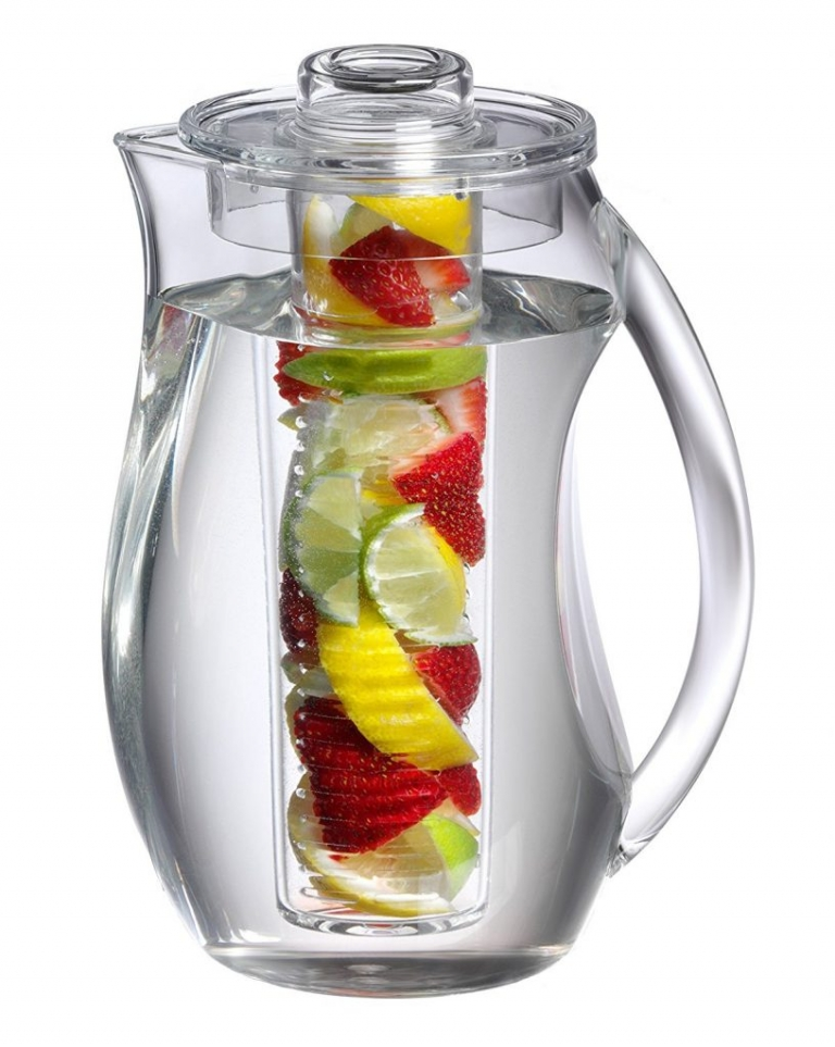 The best pitcher to infuse water for stress free entertaining!