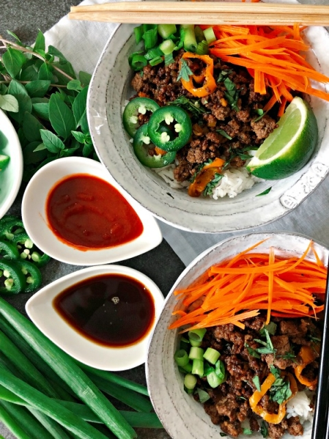 This mouthwatering beef stir fry is Paleo but it is easy enough for a weeknight meal and the flavors will have everyone going back for seconds!