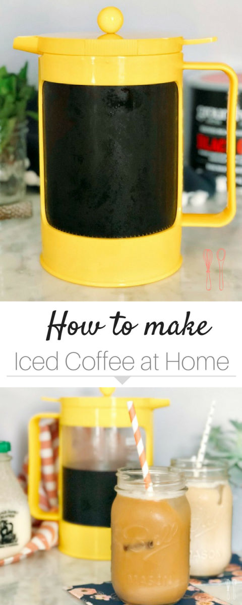 Make your own iced coffee at home! Perfect every time!