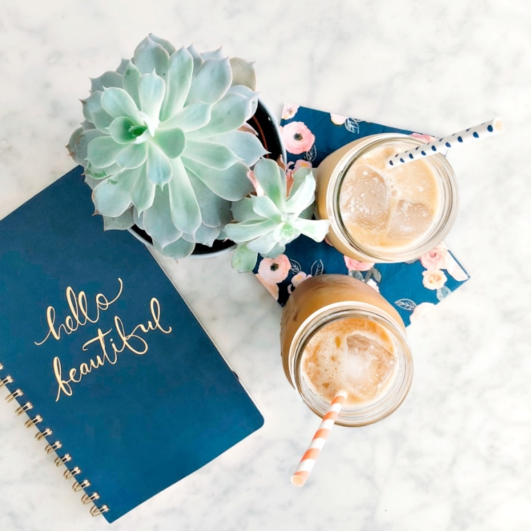 Perfect homemade iced coffee recipe