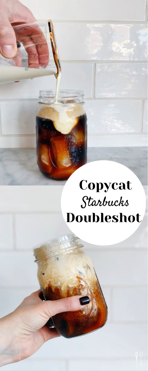 Copycat homemade Starbucks Dounbleshot recipe! Step by step recipe for a nespresso machine or a Moka Express! Delicious and satisfying!