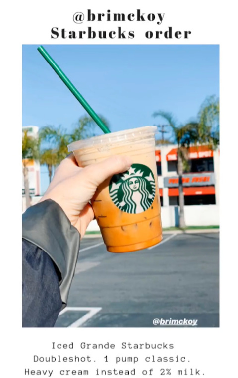The absolute BEST drink to order at Starbucks! Creamy, robust, with a touch of sweetness!